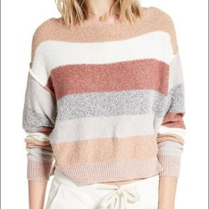 Free People Candyland Striped top!!